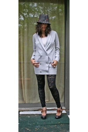 Goorin hat - Banna Republic sweater - Forever21 leggings - Dolce Vita shoes