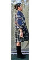 Y-3 coat - the gap dress - liz claiborne boots