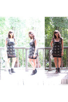 forever 21 top - American Apparel skirt - Aldo shoes - Lucky Brand accessories