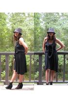 hat - Cheap Monday dress - Aldo shoes