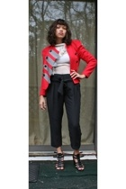 31 phillip lim jacket - Zara top - Express pants - Nine West shoes