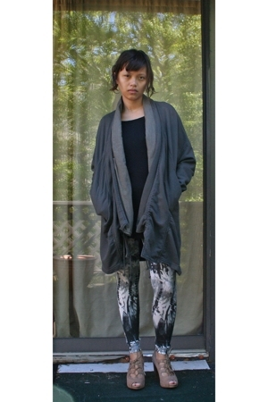 Prarie Underground jacket - random from Barneys t-shirt - Forever21 leggings - S