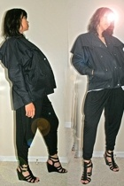 The Breed jacket - Forever21 pants - Nine West shoes