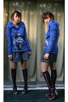 Manoush t-shirt - Forever21 shorts - Jcrew socks - seychelles shoes - Forever21