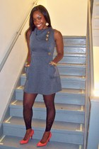 random brand dress - H&M - payless shoes - forever 21