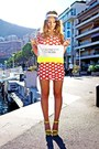 Red-river-island-dress-yellow-style-up-wedges
