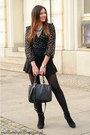 Navy-h-m-coat-black-zara-skirt-black-zara-blouse