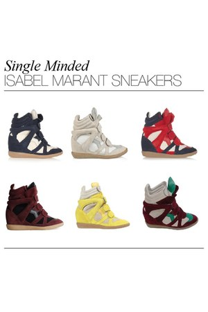 off white Isabel Marant shoes - maroon Isabel Marant shoes