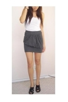Wet Seal skirt - shirt - Charlotte Russe shoes
