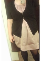 Vero Moda dress - H&M shirt - noname tights