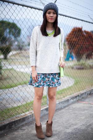 Mango sweater - Zara boots