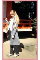 H&M jacket - H&M pants - store in harajuku vest - Miu Miu purse - on the coach s