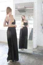 black American Apparel dress