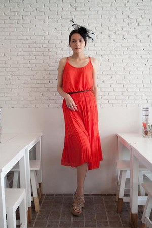 carrot orange maxi dress myChickPea dress