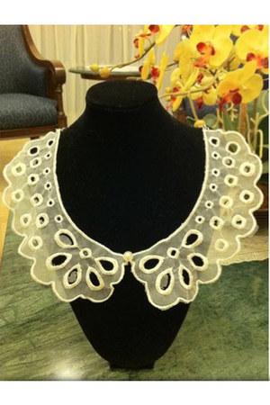 ivory collar myChickPea necklace