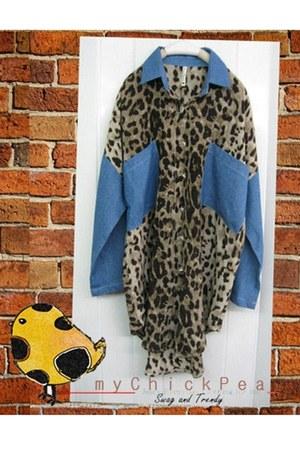 jeans leopard myChickPea shirt