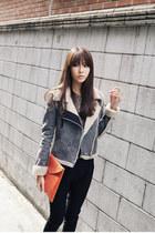 Heather-gray-warm-cosy-dahong-jacket