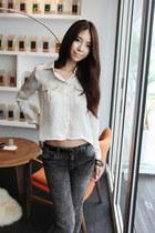 Vingtage-skinny-dahong-jeans