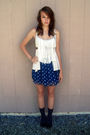 Gray-top-brown-belt-blue-american-eagle-skirt-blue-socks-black-shoes-s