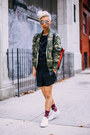 White-sneakers-acne-shoes-olive-green-camo-g-star-raw-jacket