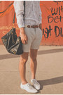 White-sheer-h-m-shirt-white-zara-shoes