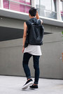 Black-steve-madden-shoes-black-sleeveless-cos-blazer