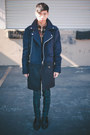 Black-mesh-oxfords-alexander-wang-shoes-navy-zipper-coat-kai-aakmann-coat