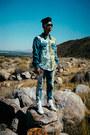 Blue-floral-print-marna-ro-jacket