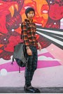 Mesh-31-phillip-lim-boots-plaid-uniqlo-jacket-studded-deepstyle-bag