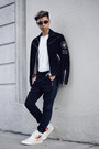 Off-white-sneakers-converse-shoes-black-motorcycle-the-kooples-jacket