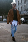 Dark-brown-leather-asos-boots-sky-blue-distressed-asos-jeans