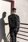 Black-backpack-steele-borough-bag-black-duffel-steele-borough-bag
