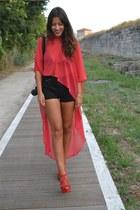 Stefania silvestri blouse - Zara sandals