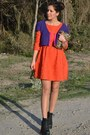 Carrot-orange-h-m-dress