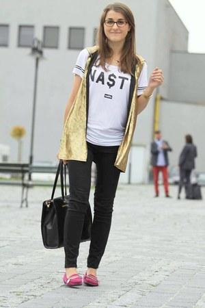 Zara pants - Misbehave t-shirt