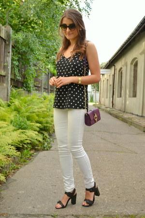 Diane Von Furstenberg bag - Express blouse