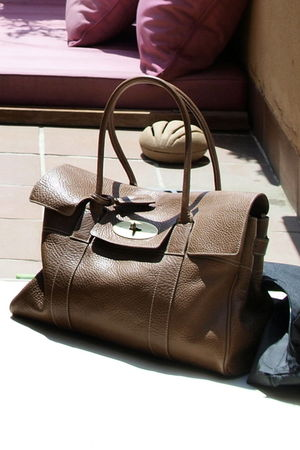 brown Mulberry purse