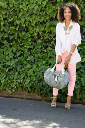 Via Spiga shoes - Target shirt - Fendi purse - Theodore necklace