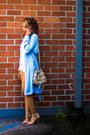 Light-blue-forever-21-coat-white-all-saints-shirt-white-holister-shorts