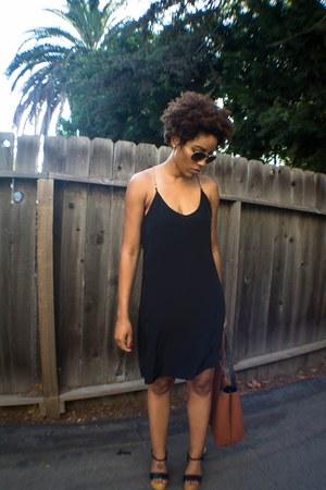 tawny Choies shoes - black Charlie Jade dress - tawny Nordstrom bag