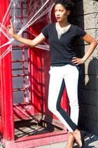 Shoedazzle bag - shoemint heels - Target pants