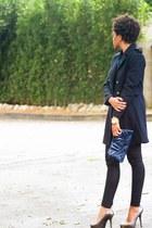 H&M coat - channel bag - Target pants - Fergie pumps