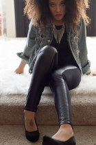 True Religion jacket - Paige leggings - Seven shirt