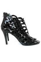 black peep toe Via Accenti sandals