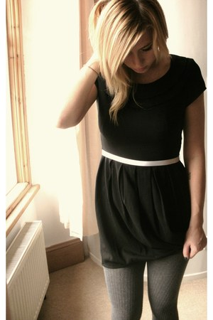 vintage Topshop dress - ribbed knitted Topshop tights