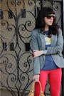 Charcoal-gray-zara-jacket-red-joes-jeans-jeans-bronze-foley-corrina-bag