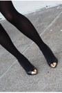 Black-chinese-laundry-heels-blue-target-sweater-black-zara-skirt