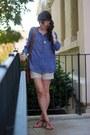 Brown-liz-claiborne-bag-cream-the-limited-shorts