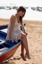 Guess dress - suiteblanco jacket - Massimo Dutti heels