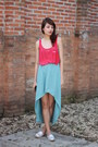 Mullet-skirt-diy-shirt-alpargatas-perky-shoes-flats